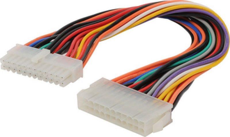 Câble ATX (M) 24Pins / ATX (F) 24pins - 15 cms