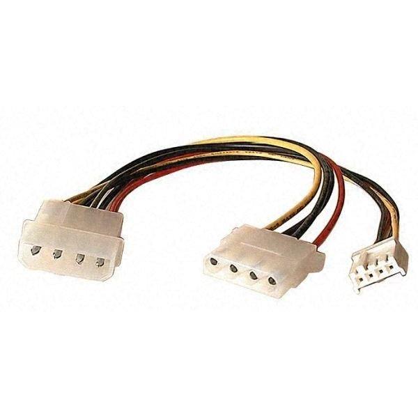Câble Molex (F) > Molex 5.25(M) + 3.5(M)