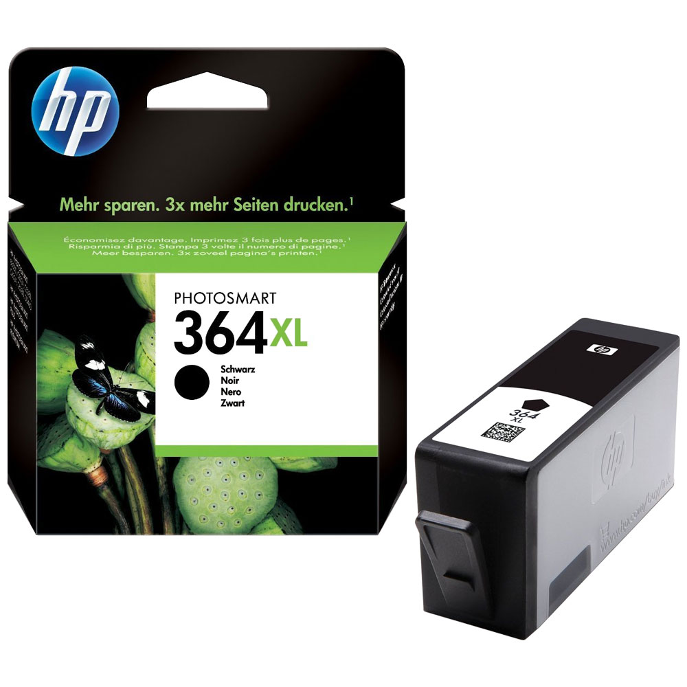 Cartouche HP 364 XL Black CN684EE