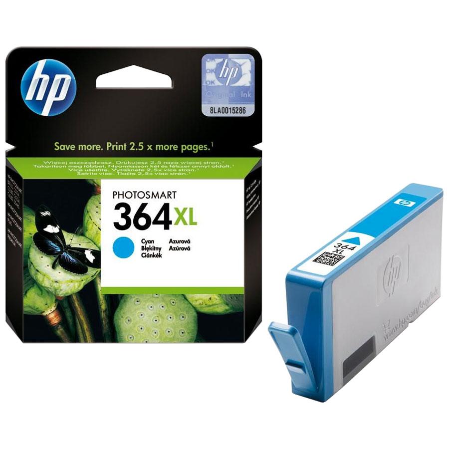 Cartouche HP 364XL Cyan - CB323EE