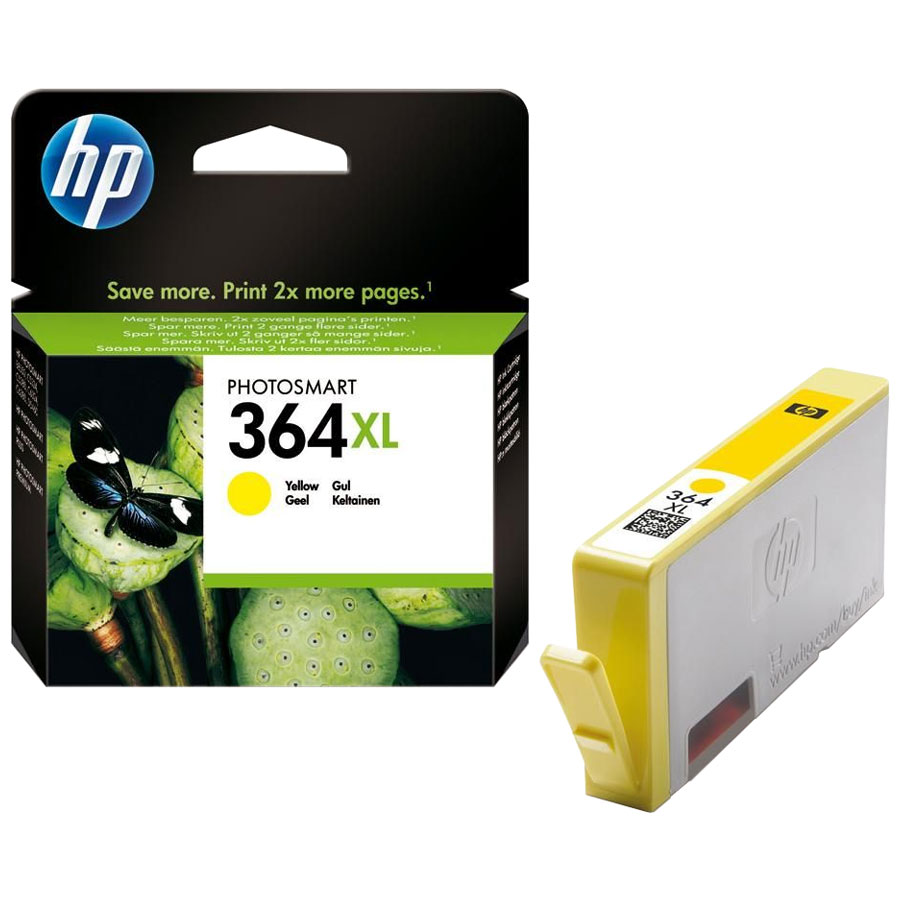 Cartouche HP 364XL Yellow - CB325EE