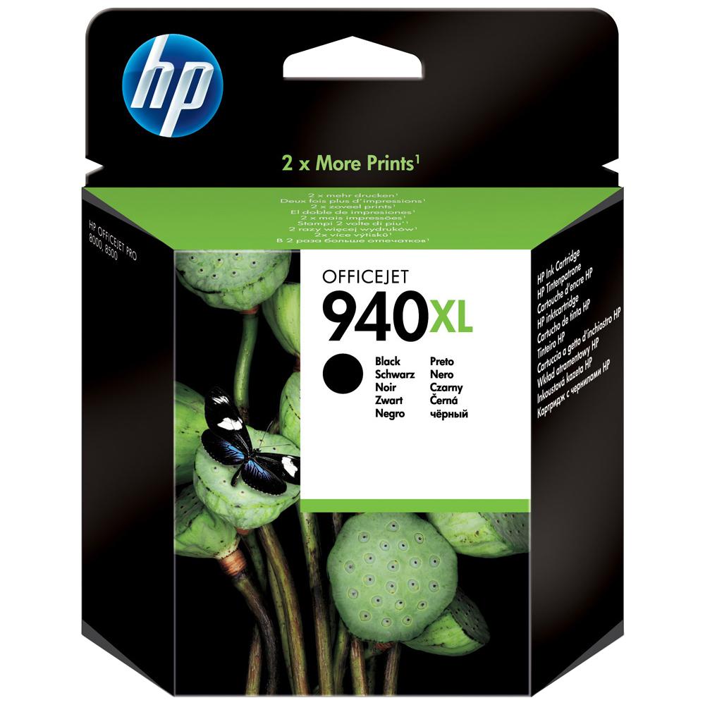 Cartouche HP 940XL Black - C4906AE