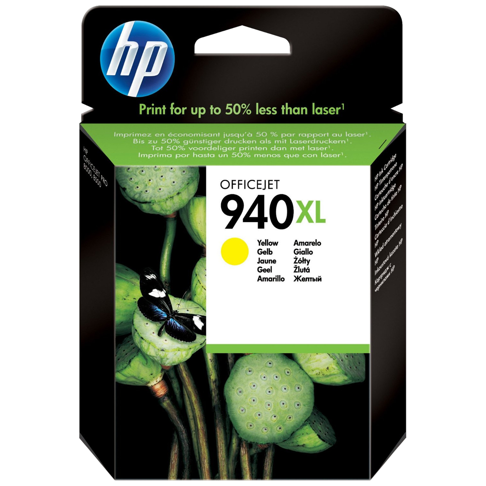 Cartouche HP 940XL Yellow - C4906AE