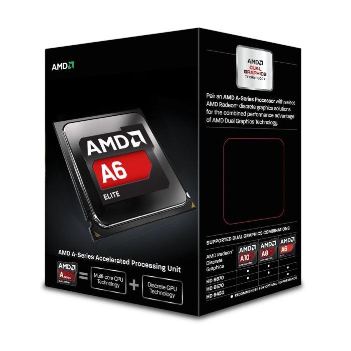 Processeur AMD - FM2 - A6-6400 - 4.10GHz