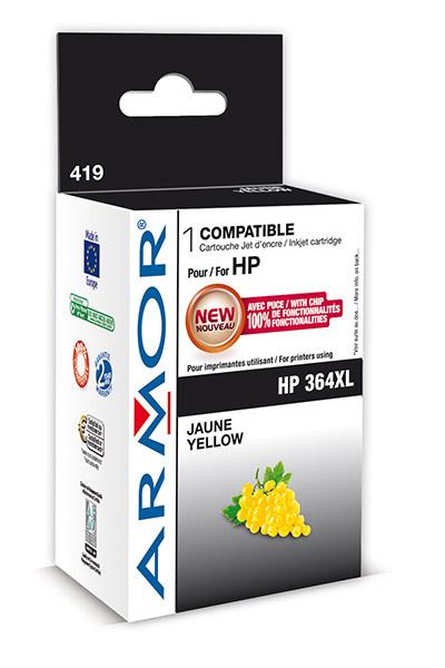 Cartouche Armor HP 364XL - Yellow - K12575