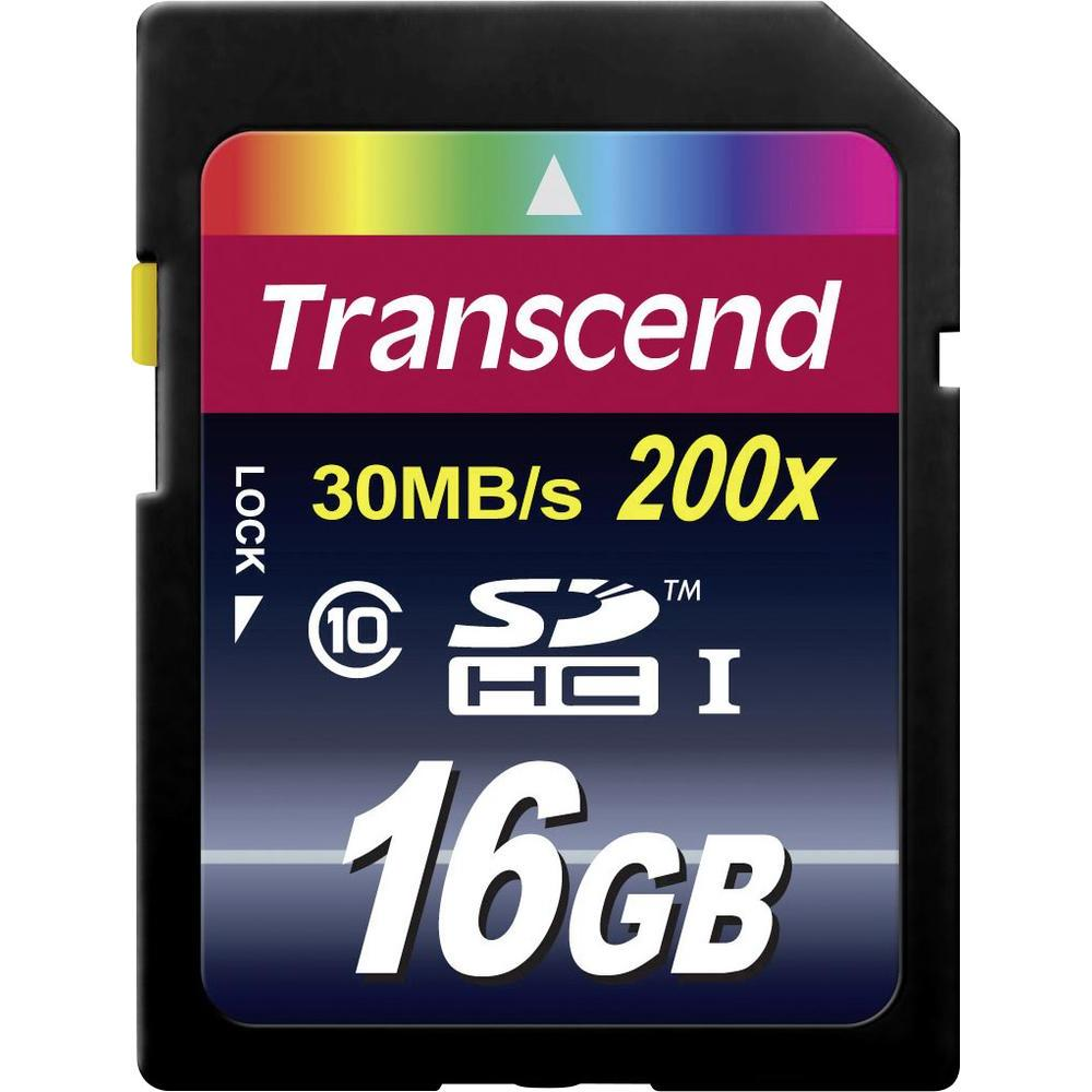 Transcend - SDHC - 16 Go - Classe 10