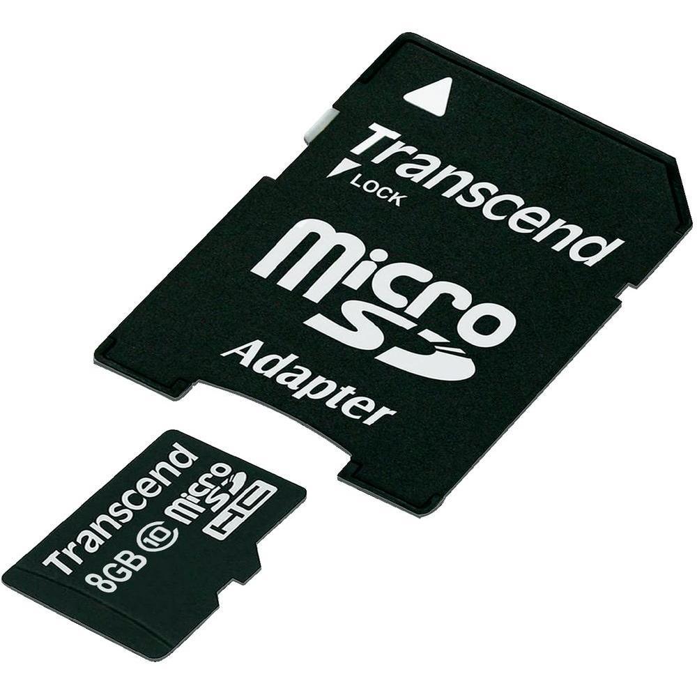 Transcend - Micro SDHC - 08 Go - Classe 10