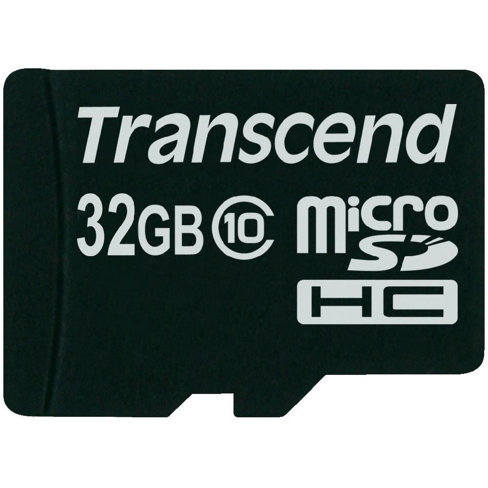 Transcend - Micro SDHC - 32 Go - Classe 10
