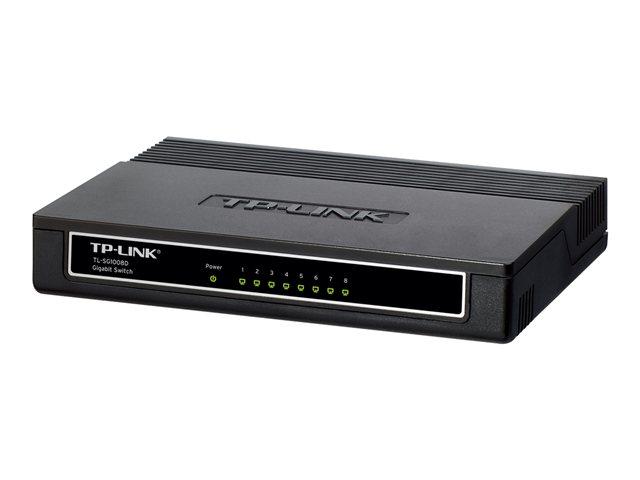 Switch TP-LINK - 8 Ports - Gibabit - TL-SG1008D