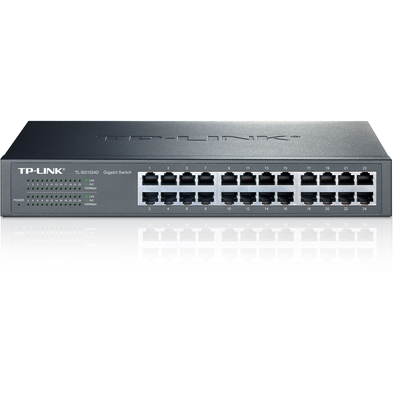 Switch TP-LINK - 24 Ports - Gibabit - TL-SG1024D