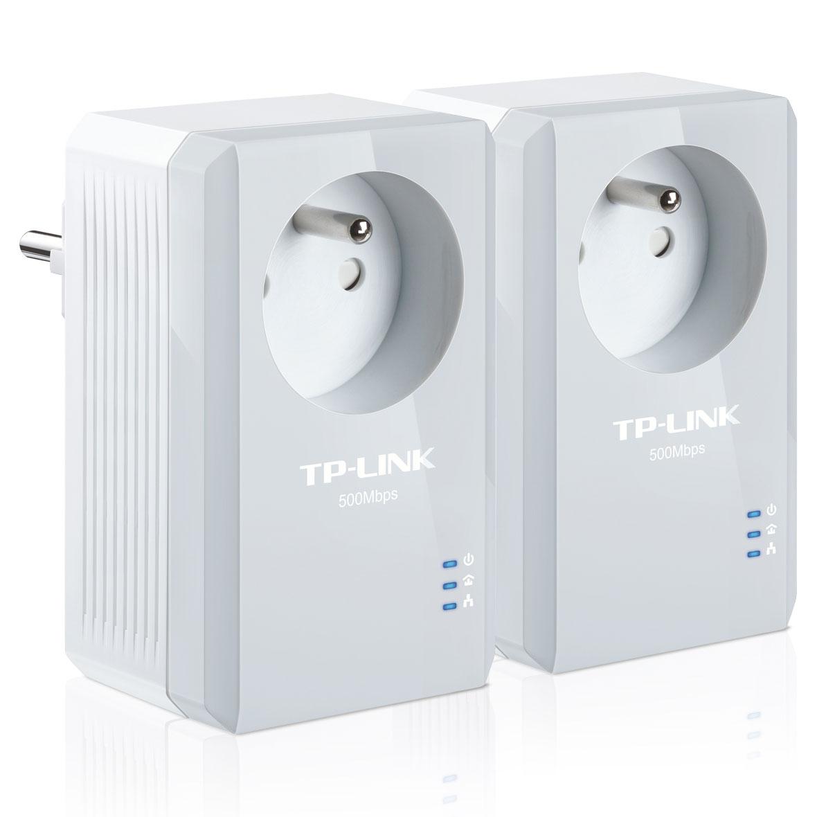 CPL - TPLINK AV500 - KIT X2 - 500 Mbps