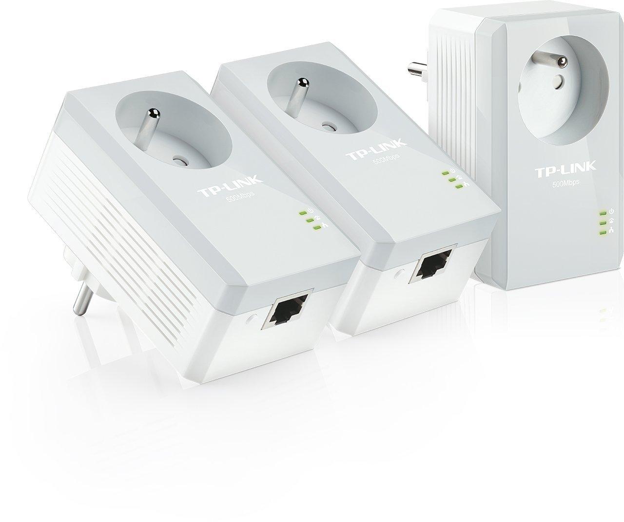CPL - TPLINK AV500 - KIT X3 - 500 Mbps