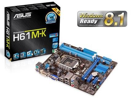Carte-mère ASUS H61M-G - ATX - Socket 1155