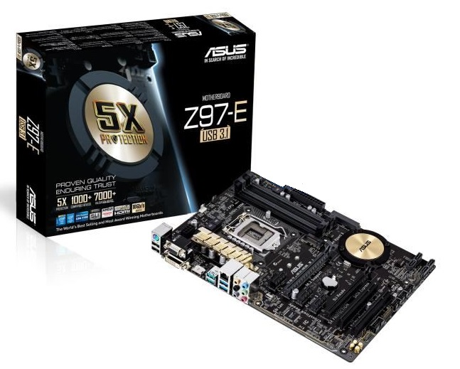 ASUS Z97-E - ATX - Socket 1150