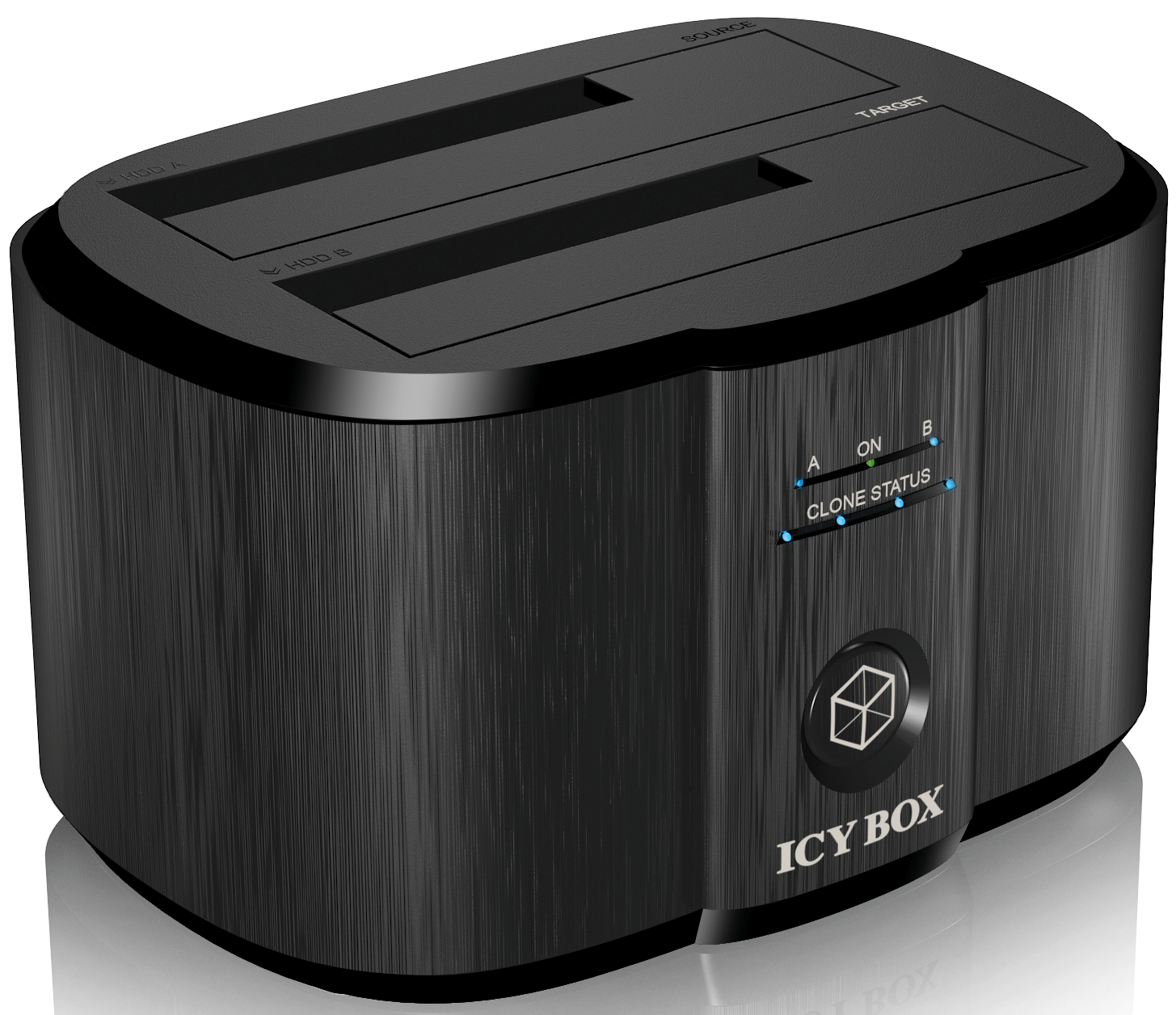 ICYBOX - USB 3.0 - S-ATA X2 - IB-124CL-U3