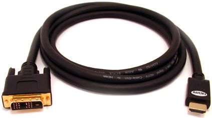 Câble DVI-D 24+1 (M) Vers HDMI (M) - 3 Mètres