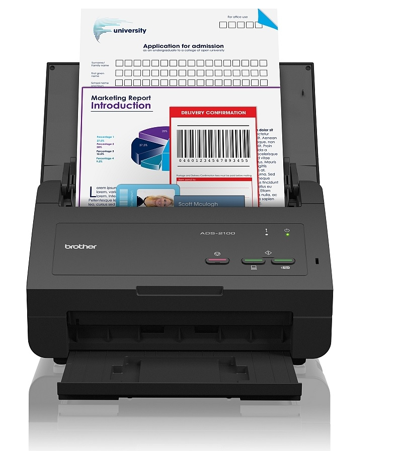 Scanner Brother ADS-2100e - A4 - Recto Verso