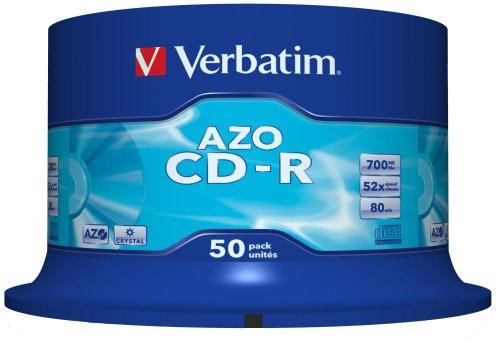 Cloche de 50 CD-R Verbatim - 700 Mo