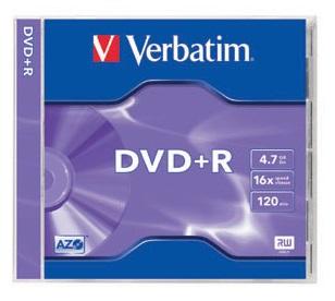 DVD+R Verbatim - 4.7 Go - Imprimable