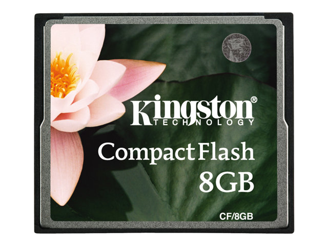Kingston - COMPAQ FLASH - 08 Go - STANDARD