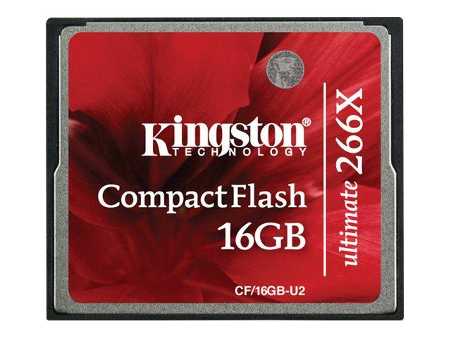 Kingston - COMPAQ FLASH - 16 Go - 266x