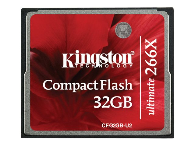 Kingston - COMPAQ FLASH - 32 Go - 266x