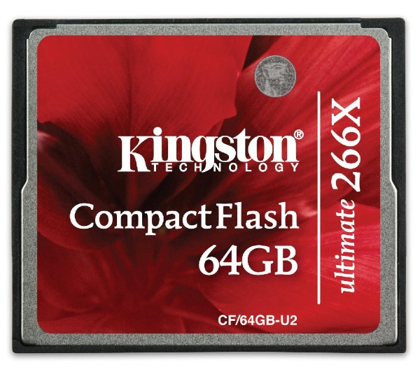 Kingston - COMPAQ FLASH - 64 Go - 266x