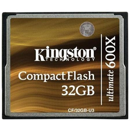 Kingston - COMPAQ FLASH - 32 Go - 600x
