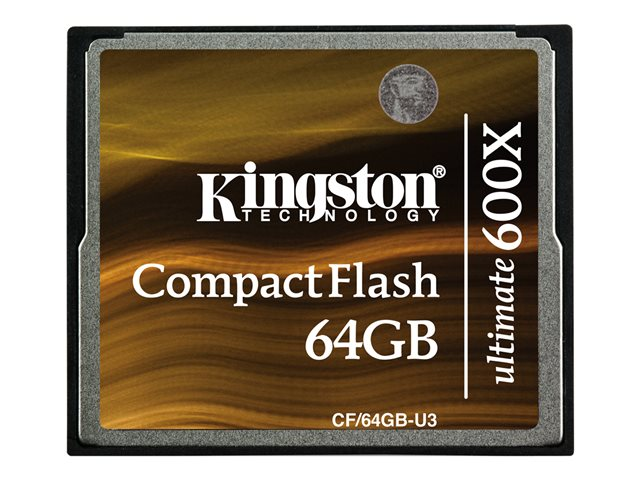 Kingston - COMPAQ FLASH - 64 Go - 600x