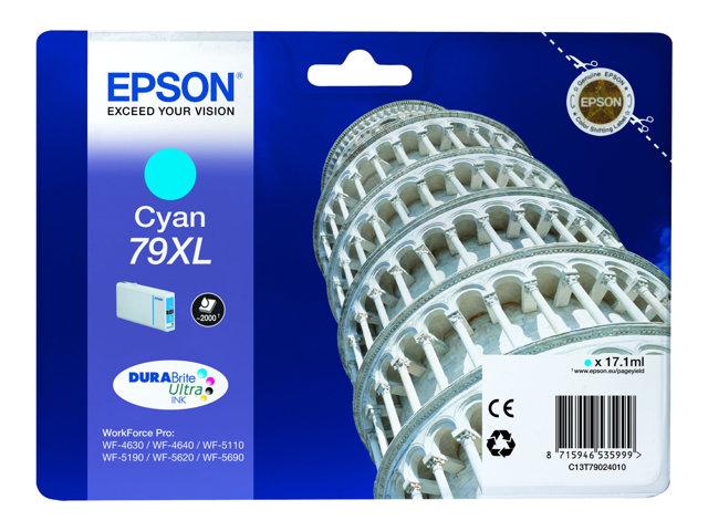 Cartouche Epson 79XL- Cyan - C13T79024010
