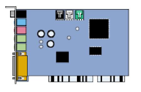 Carte Son PCI - Standard
