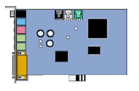 Carte Son PCI-E 1X - Standard