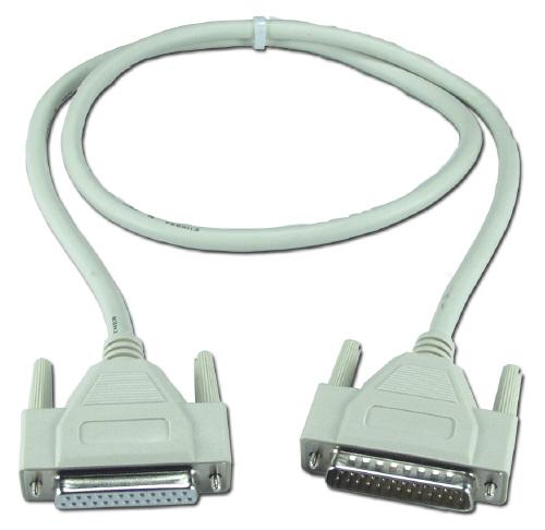 Câble Série DB25(M) / DB25(F) - 1.80 Mètres