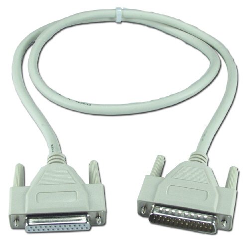 Câble Série DB25(M) / DB25(F) - 5 Mètres