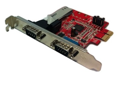 Carte PCI-EXPRESS 1X - 2X Series DB9