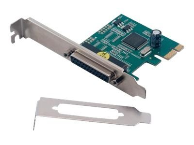 Carte PCI-EXPRESS 1X - 1X Parallèle DB25