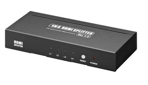 Splitter HDMI - 1 entrée Vers 4 Sorties - Full HD