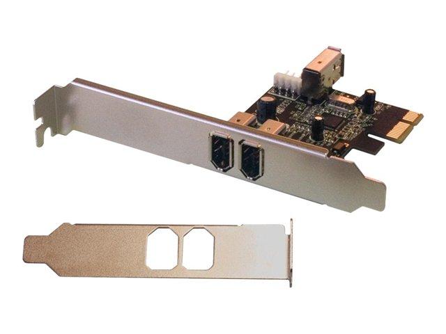 Carte PCI Express - FIREWIRE -  3 Entrées
