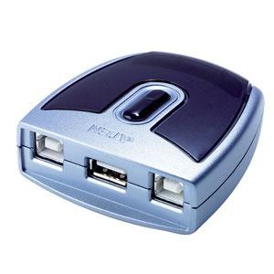 Commutateur USB 2.0 - 1 Entrée Vers 2 Sorties USB 2.0