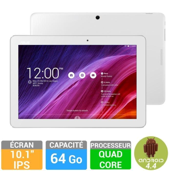 Tablette Asus MemoPAD ME103K - 10.1 - Blanc