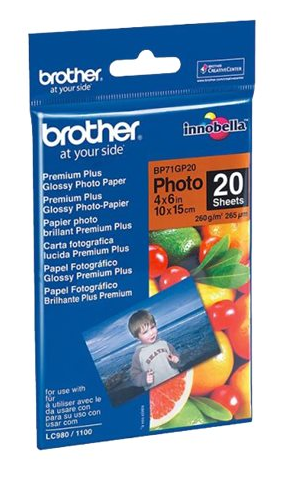 Papier Photo - A6 - Brillant - 260g/m² - 20 Feuilles