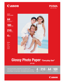 Papier Photo - A4 - Brillant - 210g/m² - 100 Feuilles