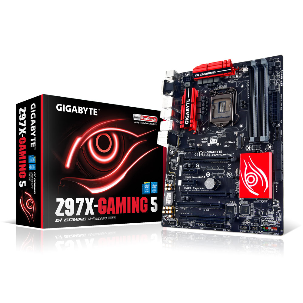 GIGABYTE GA-Z97X Gaming 5 - ATX - Socket 1150
