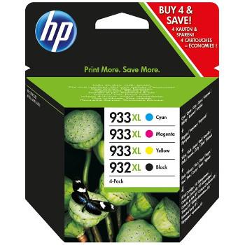 Pack 4 Cartouches HP 933XL - C2P42AE