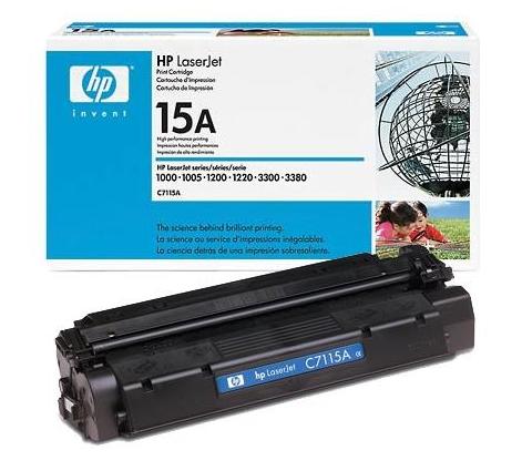 Toner Hewlett Packard C7115A - 15A