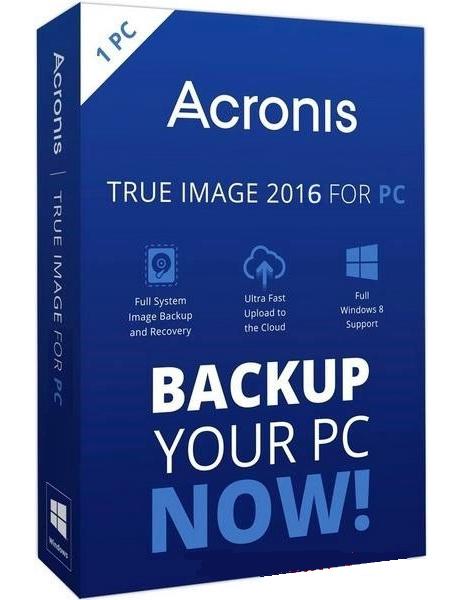 Acronis True Image 2016 - DVD - Francais