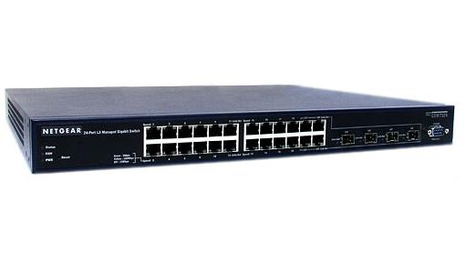 Switch (hub) NETGEAR GSM7324 - 24 Ports