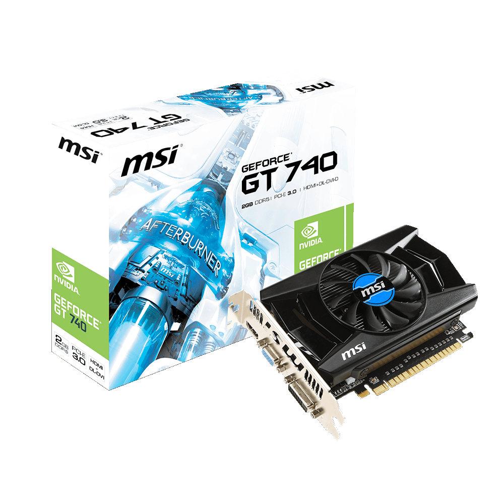 Carte Video PCI-E - GeForce GT 740 - 2Go