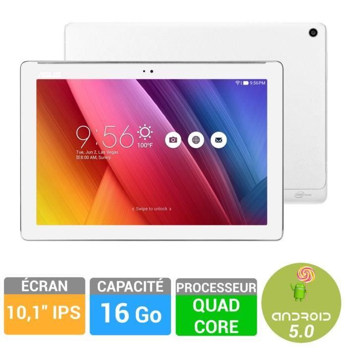 Tablette Asus ZenPAD Z300C-1B045A - Blanc