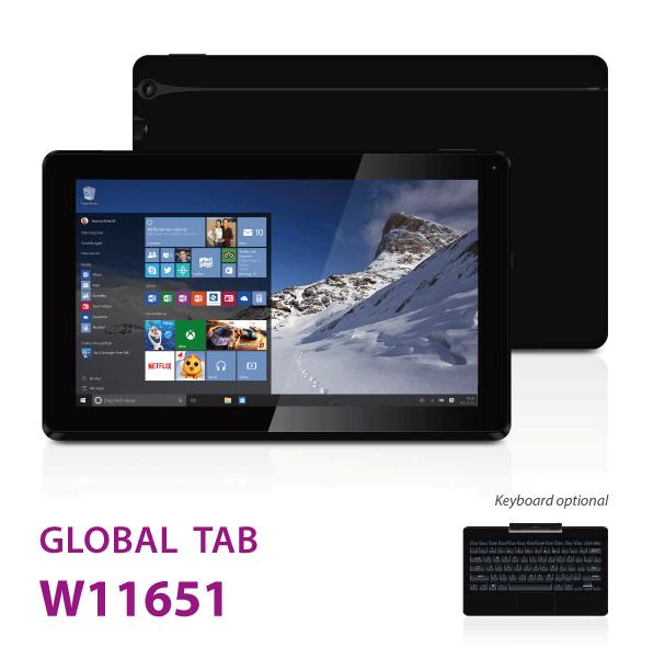 Tablette I.ONIK W11651 - 11.6 - Noir